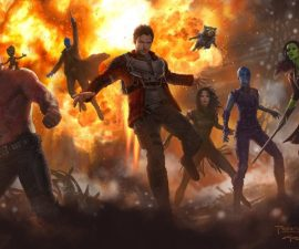 Concepto de arte - Guardians of the Galaxy 2