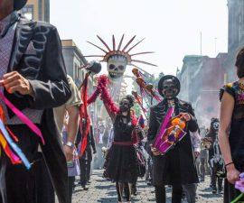 carnaval dia muertos