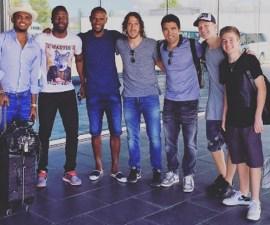 futbolistas barcelona turquia golpe de estado