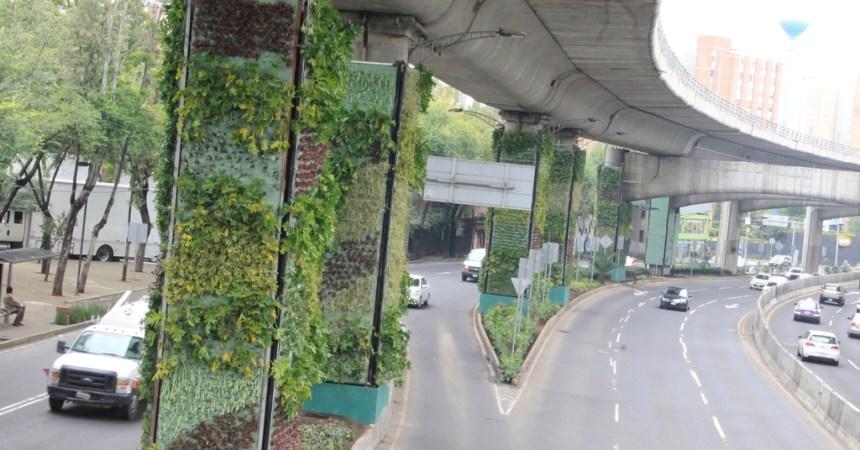 pilares verdes