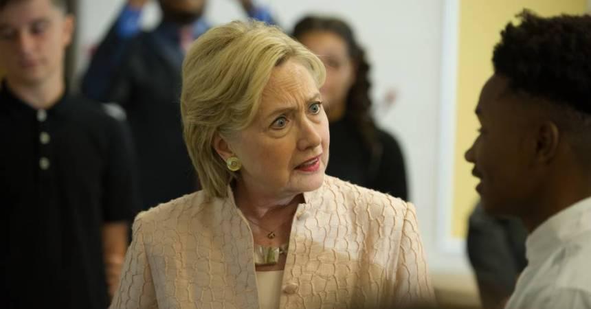 Hillary Clinton, dandidata demócrata a la Presidencia de Estados Unidos