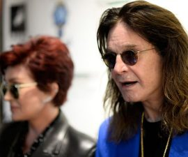 "BEVERLY HILLS, CA - SEPTEMBER 02:  Musician Ozzy Osbourne attends an VIP Opening Reception For ""Dis-Ease""  An Evening Of Fine Art With Billy Morrison at Mouche Gallery on September 2, 2015 in Beverly Hills, California.  (Photo by Frazer Harrison/Getty Images)"
