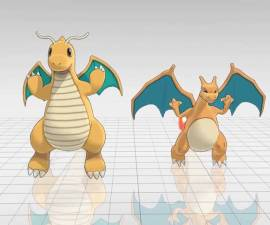 charizard-dragonite-baile