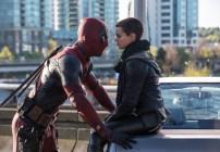 Deadpool (Ryan Reynolds) doesn't really see eye-to-eye with Negasonic Teenage Warhead (Brianna Hildebrand).