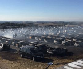 festival autos quemads