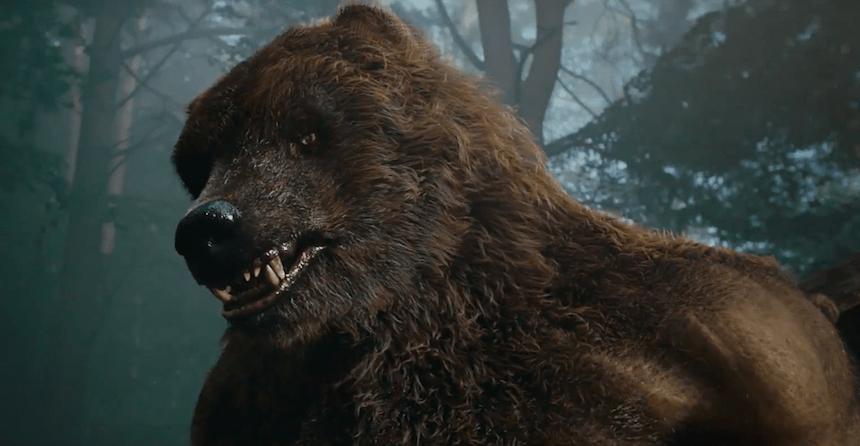Guardians, hombre oso