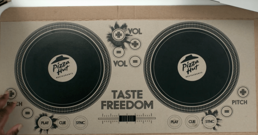 pizza hot caja dj