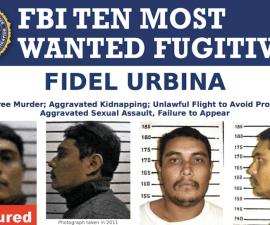 Atrapan en Chihuahua a Fidel Urbina, uno de los 10 más buscados por el FBI