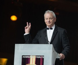 MARRAKECH, MOROCCO - DECEMBER 04:  Bill Murray attends the Tribute To Bill Murray during the 15th Marrakech International Film Festival on December 4, 2015 in Marrakech, Morocco.  (Photo by Dominique Charriau/Getty Images)