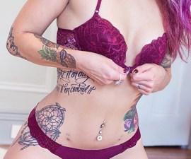 Suicide Girl - Tatuaje.
