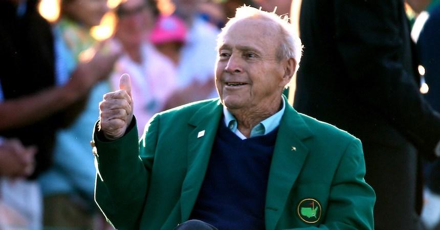 Arnold Palmer fue un gran golfista