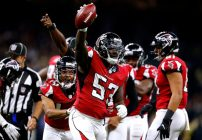 Atlanta Falcons versus New Orleans Saints