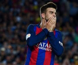 Barcelona Piqué agustiado