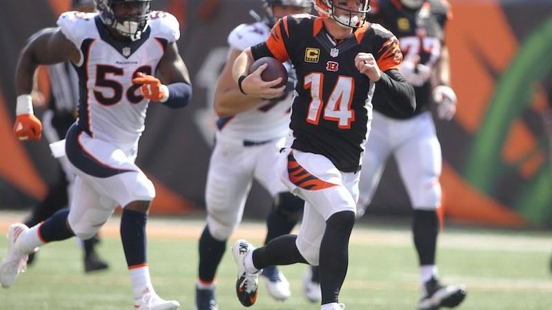 Denver Broncos contra Cincinnati Bengals