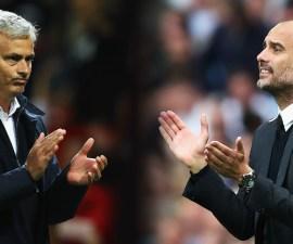 José Mourinho y Pep Guardiola