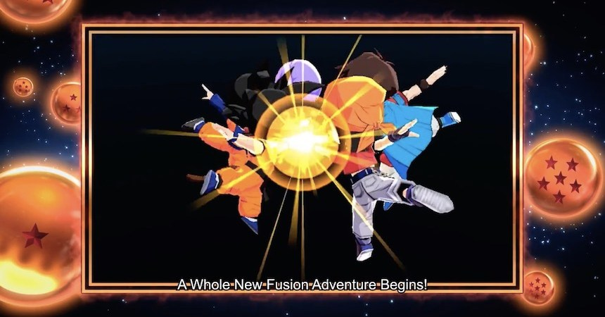 Dragon Ball Fusions Portada
