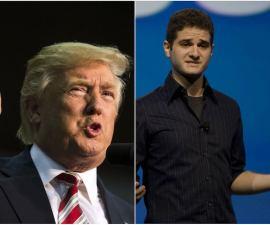 Dustin Moskovitz, uno de los fundadores de Facebook, no quiere que Trump llegue a la Presidencia