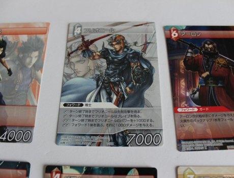Final Fantasy Cartas Portada