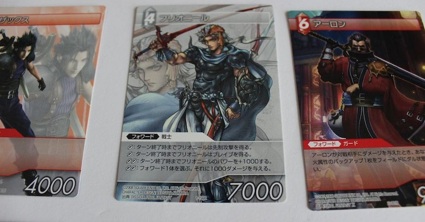 Final Fantasy Cartas Portada