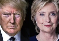 Candidatos Hillary Clinton y Donald Trump