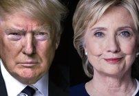 Candidatos Hillary Clinton y Donald Trump