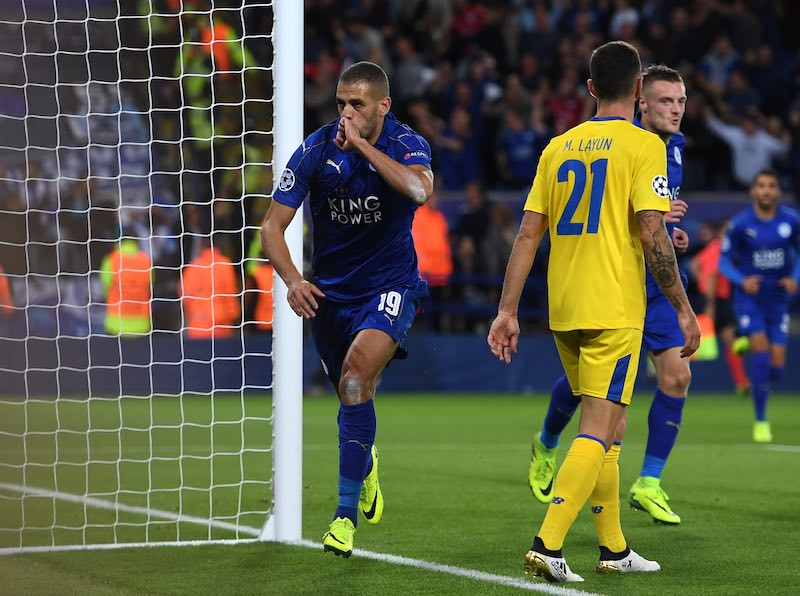 Leicester City FC contra FC Porto - UEFA Champions League