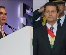Enrique Peña Nieto y Miguel Ángel Mancera presentan a sus constituyentes