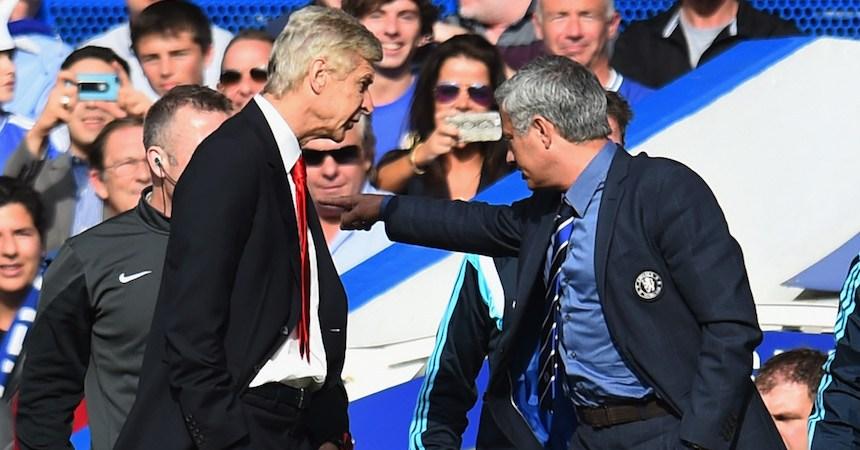 José Mourinho y Arsene Wenger no han tenido una buena relación desde que trabajan juntos en la Premier League