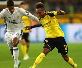 Real Madrid y borussia Dortmund empataron 2-2