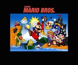 Super Mario Bros. Portada