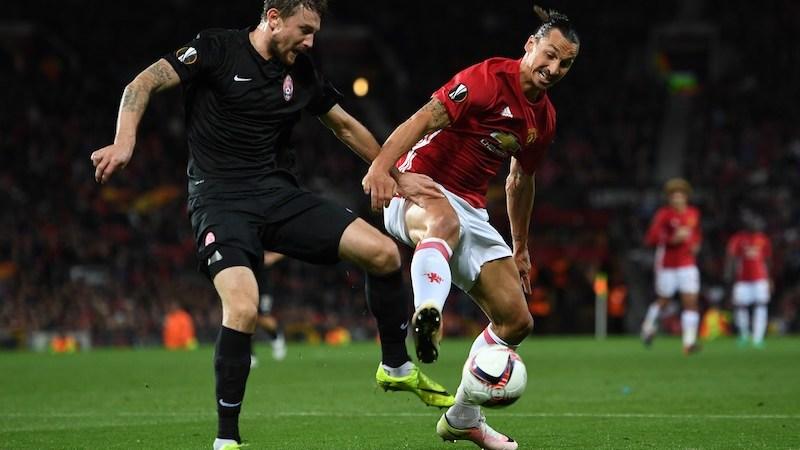 Zlatan Ibrahimovic en la Europa League