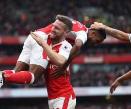 Arsenal le ganó 3-2 al Swansea