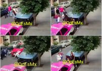 Detienen a conductor que atropelló a una familia en Azcapotzalco