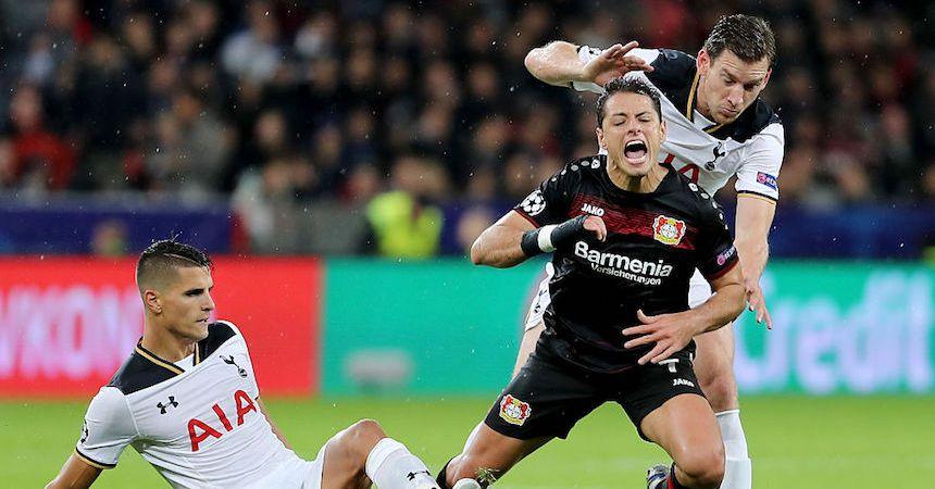El Bayer leverkusen y el Tottenham empataron sin goles