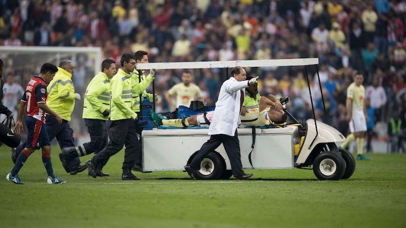 Bruno Valdez lesión Copa