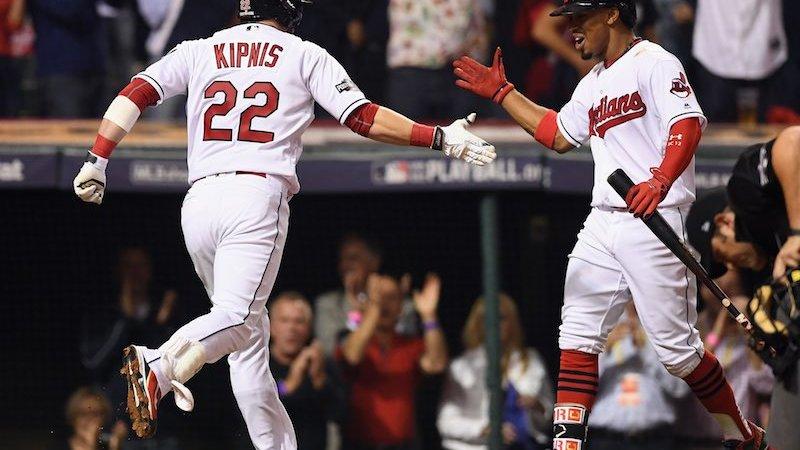 Cleveland Indians festejan