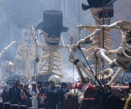 Este fin de semana se llevará a cabo el primer desfile de día de muertos de la CDMX