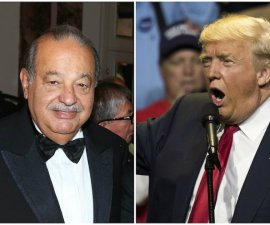El candidato presidencial del Partido Republicano, Donald Trump, quiere culpar al empresario Carlos Slim por los escándalos de acoso