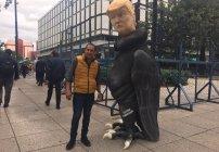 Contemplen a ZopiloTrump, una escultura contra el candidato republicano Donald Trump