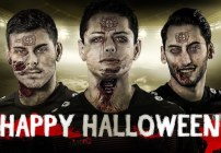 Halloween muerto Leverkusen