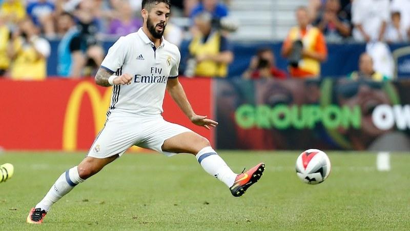 Isco de Real Madrid
