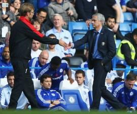 Jürgen Klopp y José Mourinho