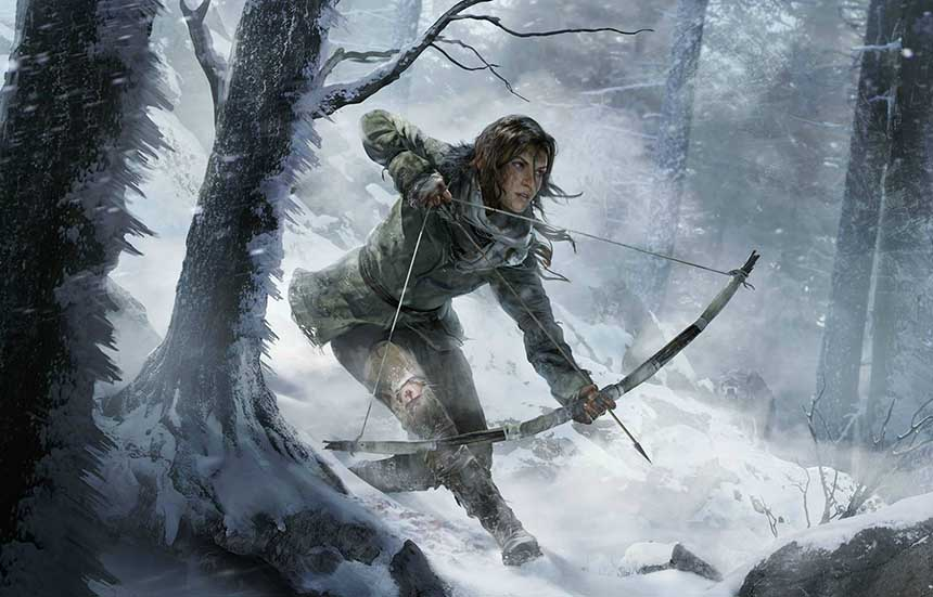 Lara Croft Rise of the Tomb Raider Portada