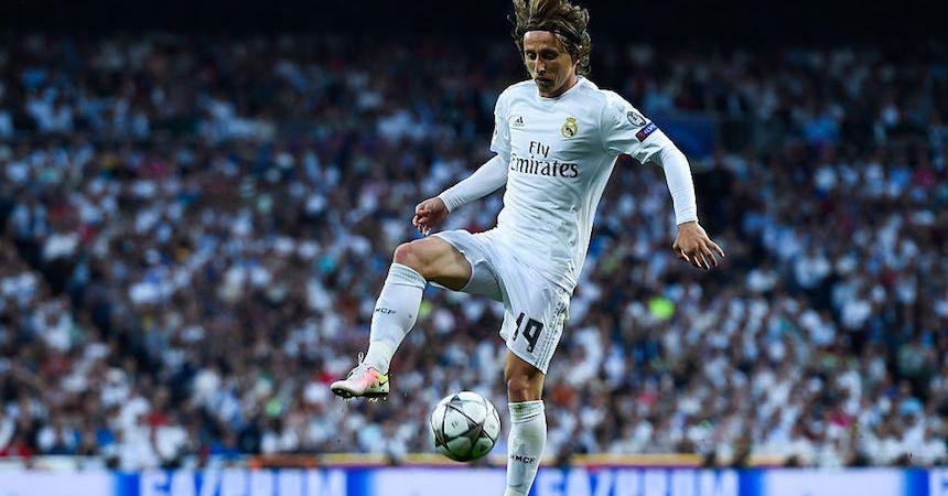 luka Modric es pieza clave en el medio campo del Real Madrid