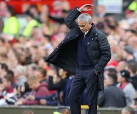 José Mourinho se molestó porque su equipo no pudo conseguir los tres puntos
