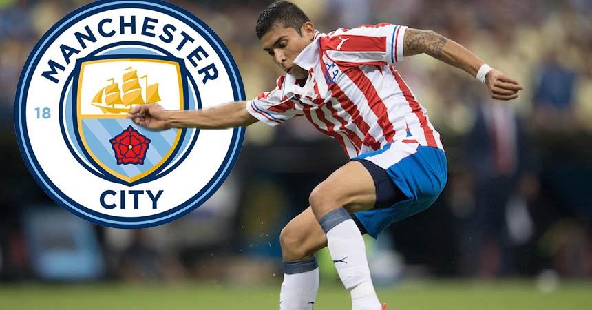 Orbelín Pineda al Manchester City