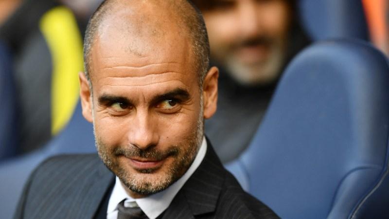 Josep Guardiola feliz