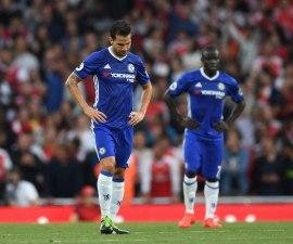 Cesc Fábregas con Chelsea