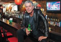 Anthony Bourdain comparte sus secretos contra la cruda