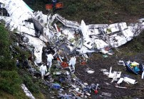 Chapeocoense Airplane Crashes in Colombia